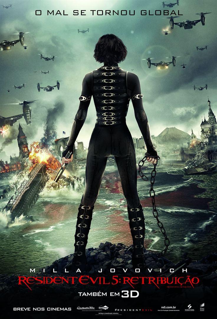 Resident Evil 5: Retribuição (2012) Poster