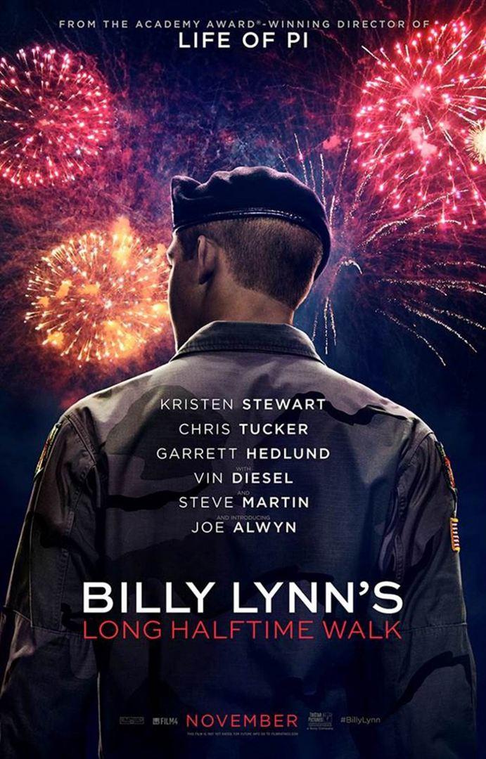 A Longa Caminhada de Billy Lynn (2016) Poster