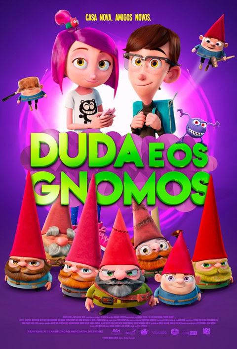 Duda e os Gnomos (2017) Poster