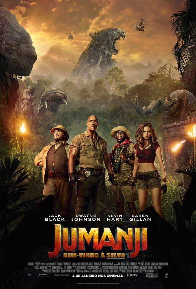 Jumanji 2: Bem-Vindo à Selva (2017) Poster