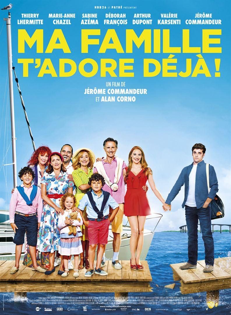 Minha Família Já Te Ama! (2016) Poster