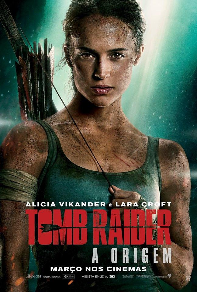 Tomb Raider - A Origem (2018) Poster