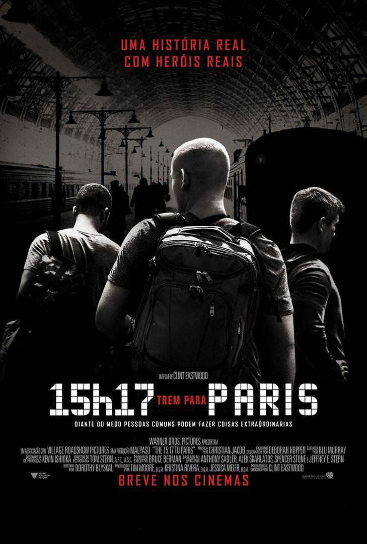 15h17 - Trem Para Paris (2018) Poster
