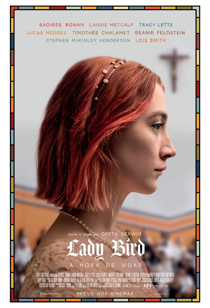 Lady Bird - A Hora de Voar (2017) Poster