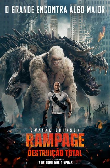 Rampage – Destruição Total (2018) Poster