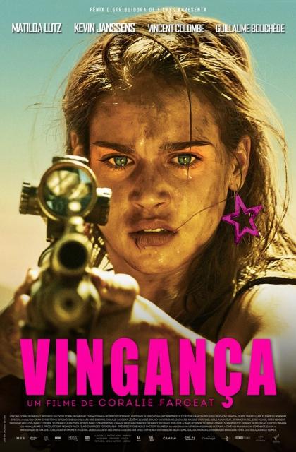 Vingança (2018) Poster