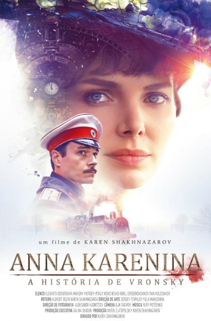 Anna Karenina: A História de Vronsky (2018) Poster