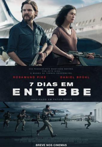 7 Dias em Entebbe (2018) Poster