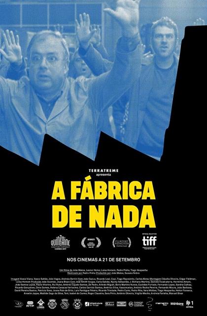 A Fábrica de Nada (2018) Poster