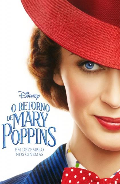O Retorno de Mary Poppins (2018) Poster