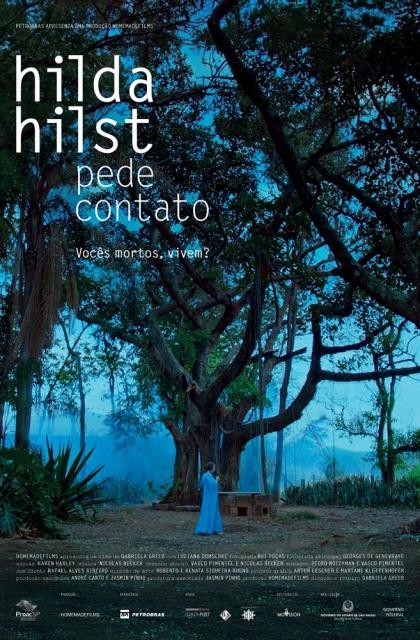 Hilda Hilst Pede Contato (2018) Poster