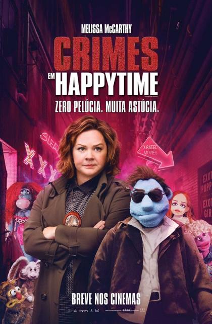 Crimes em Happytime (2018) Poster