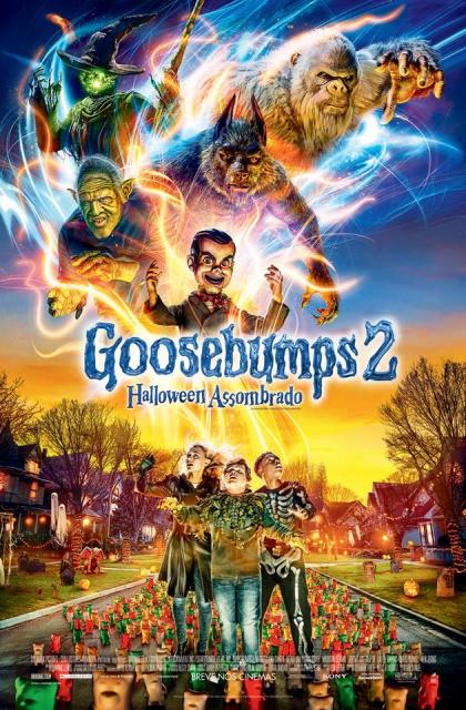 Goosebumps 2 - Halloween Assombrado (2018) Poster