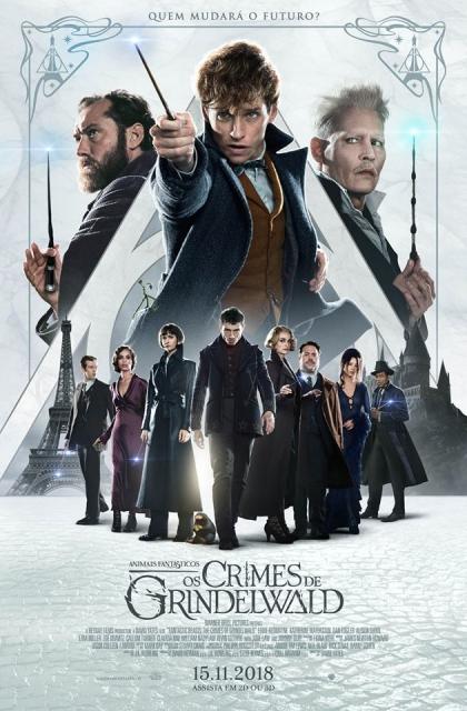 Animais Fantásticos: Os Crimes de Grindelwald (2018) Poster