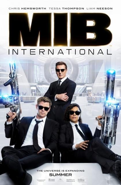 MIB: Homens de Preto – Internacional (2019) Poster