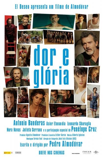 Dor e Glória (2019) Poster